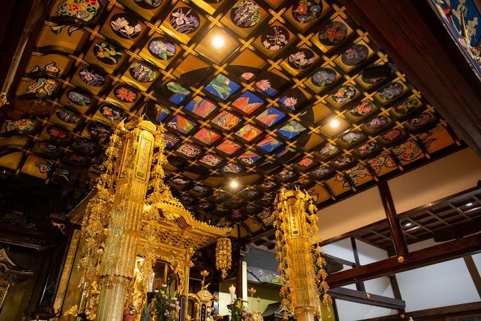 長福寺天井絵